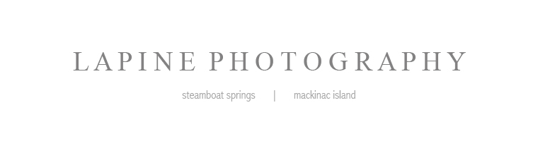 Steamboat Springs Wedding Photographers – Lapine Photography logo